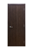 M 34 Black Walnut Laminate Modern Interior Door
