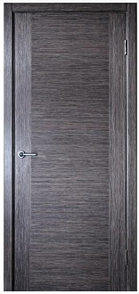 Milano Grey Oak Finish Modern Interior Door