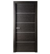 Avanti Interior Door w/ Black Apricot Finish