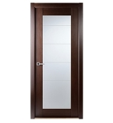Maximum 209 Modern Interior Door Wenge Finish