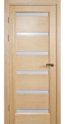 Tokio Bleached Oak Finish Modern Interior Door w/Frosted Glass