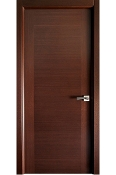 Milano Modern Interior Door Wenge Finish