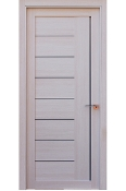 Miami Modern Interior Door White Ash Finish w/Frosted Glass