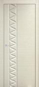 """Deco Art"" Transitional Style Interior Door Satin Silver Finish"