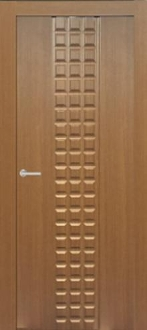 """Prima"" Transitional Style Interior Door Golden Oak Finish"