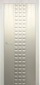 Prima Lux Satin White Finish Transitional Style Interior Door