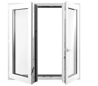 "W 72"" x H 48""  PVC Tilt and Turn Window"