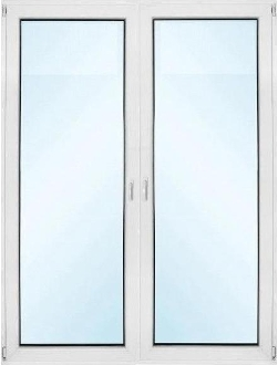"French Patio Doors Prehung - W 60"" x H 80"""